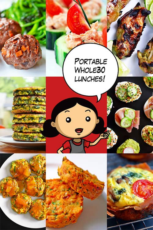 Portable Whole30 Lunch Ideas by Michelle Tam http://nomnompaleo.com