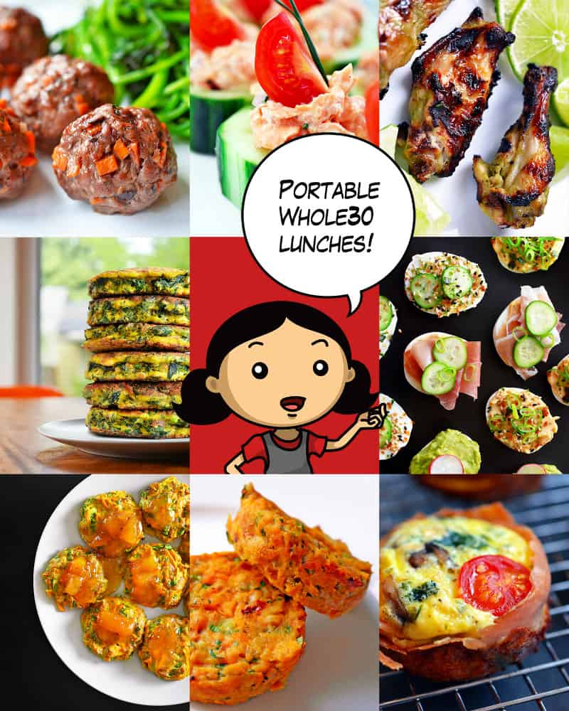 Portable Whole30 Lunch Ideas by Michelle Tam http://nomnompaleo.com