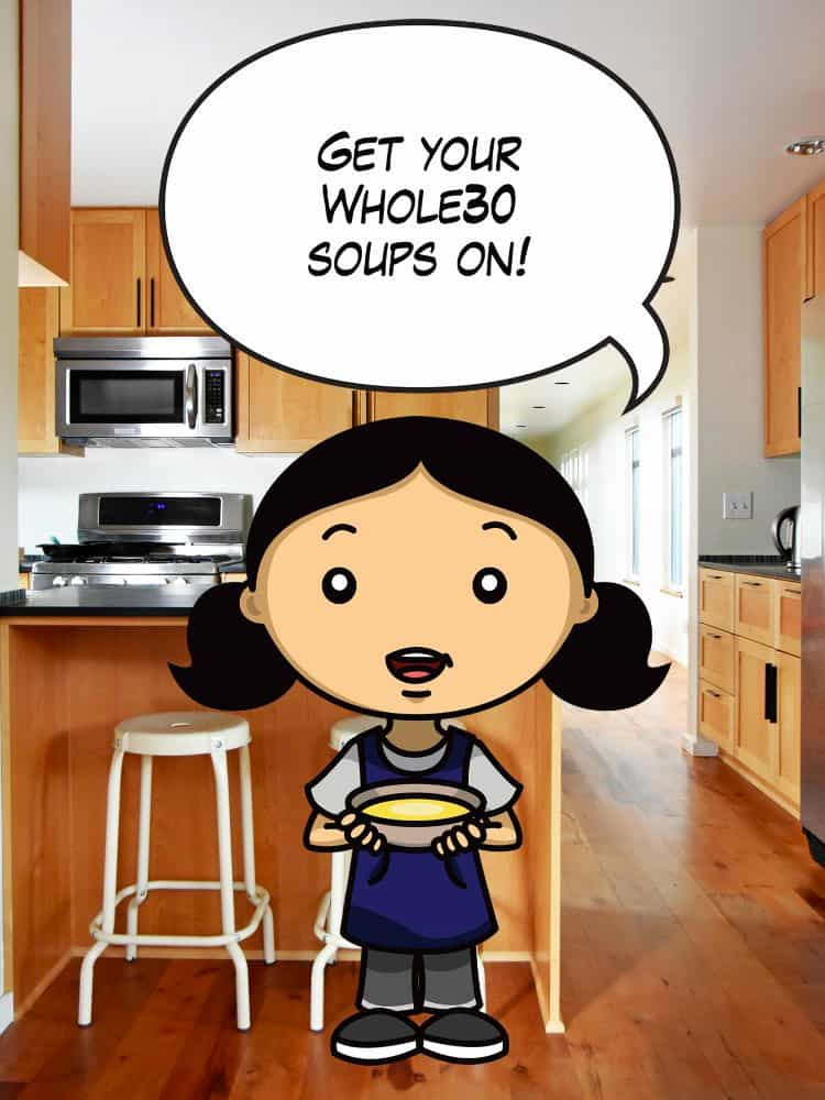 Whole30 Soup Ideas by Michelle Tam http://nomnompaleo.com