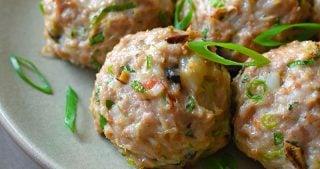 Wonton Meatballs