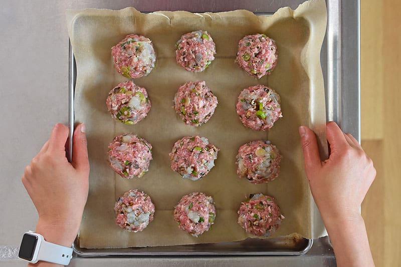 Wonton Meatballs by Michelle Tam / Nom Nom Paleo http://nomnompaleo.com