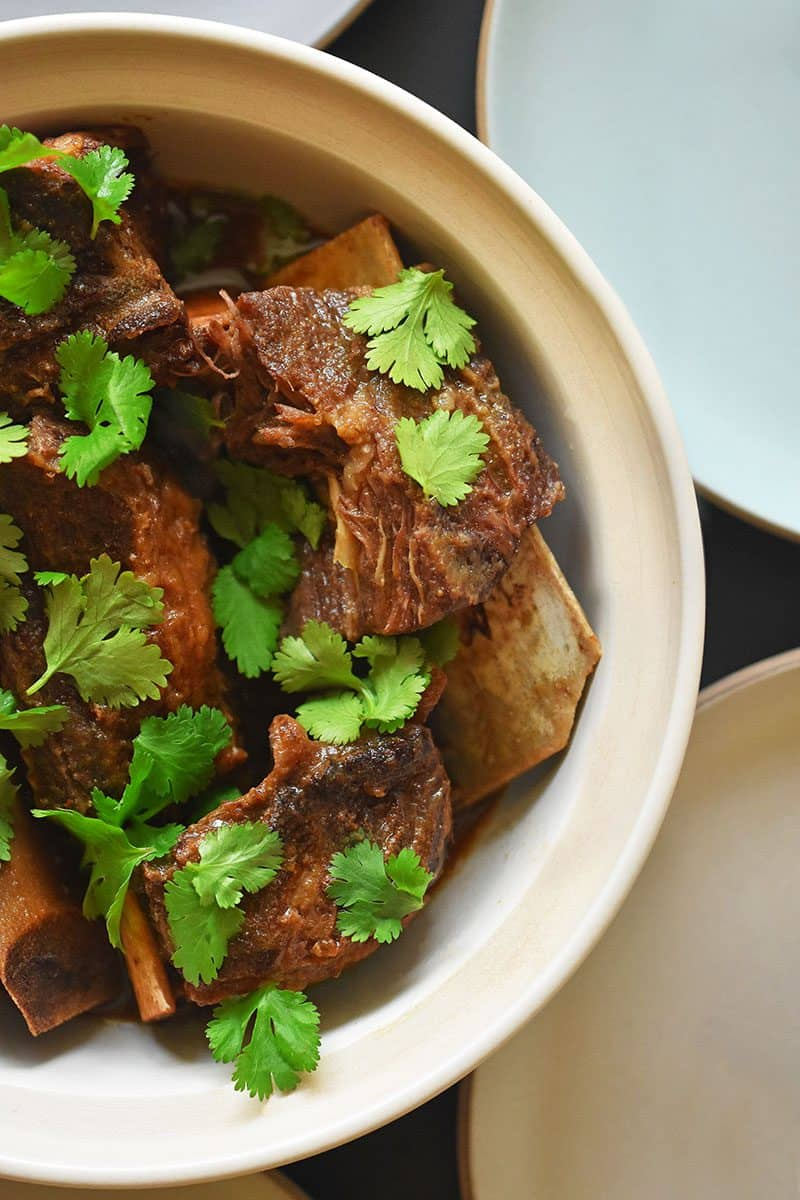Instant Pot Korean Short Ribs by Michelle Tam https://nomnompaleo.com