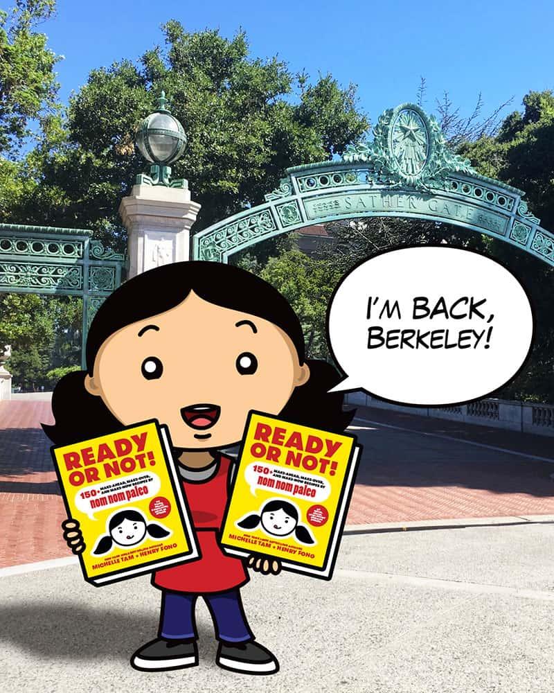 I'm Back, Berkeley!