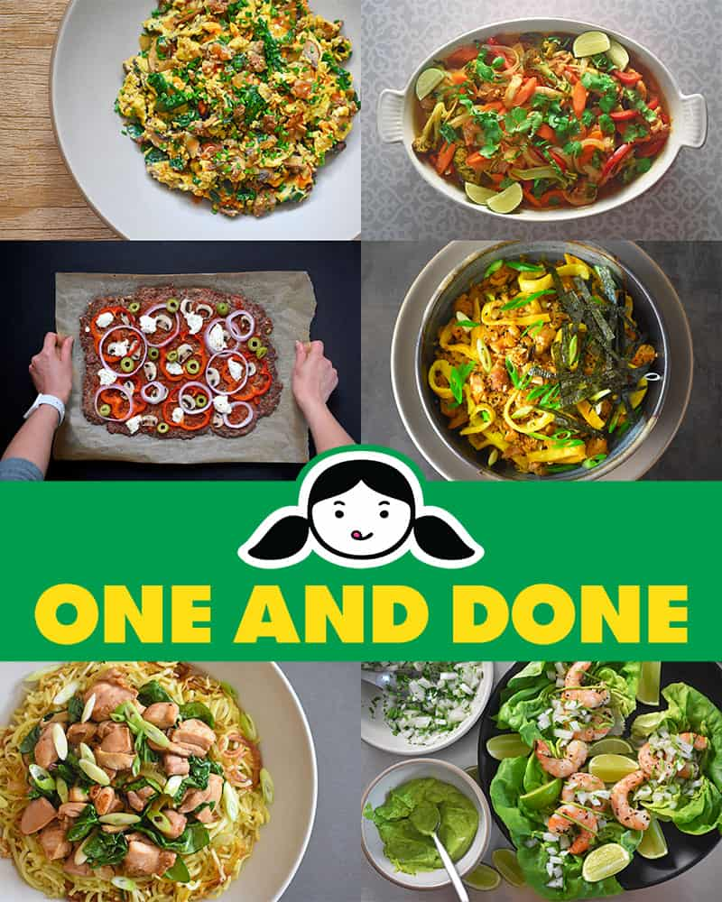 One and Done by Michelle Tam & Henry Fong http://nomnompaleo.com
