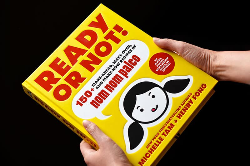 A photo of Ready or Not!, the New York Times bestselling cookbook by Michelle Tam & Henry Fong