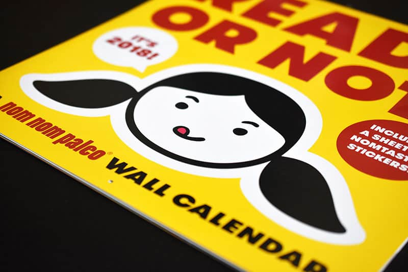 Ready or Not! 2018 Wall Calendar http://nomnompaleo.com