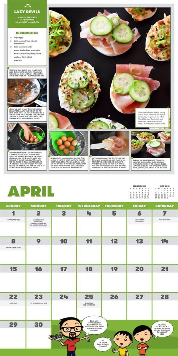 Ready or Not Calendar - April