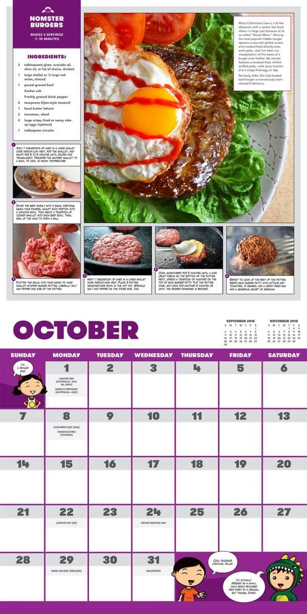 Ready or Not Calendar - October
