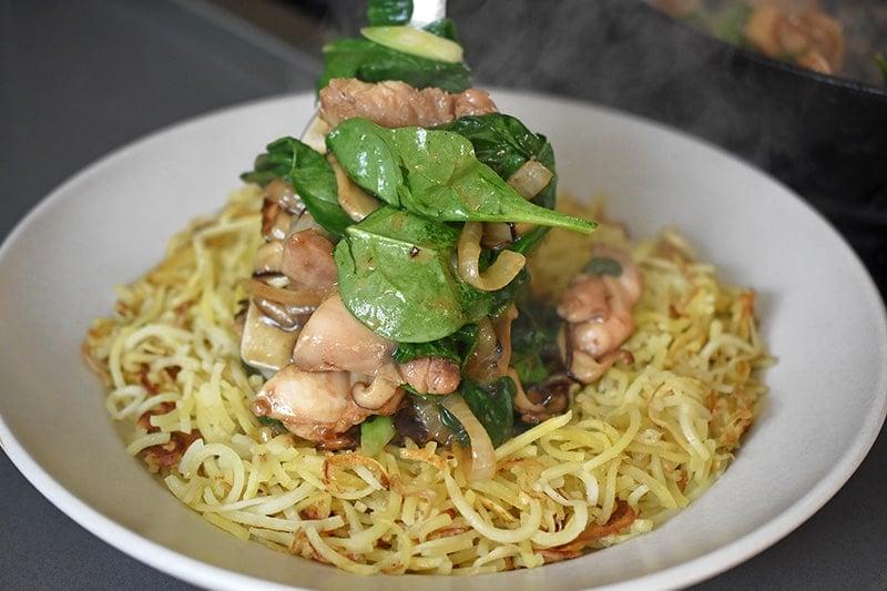 Paleo Chicken Chow Mein by Michelle Tam http://nomnompaleo.com