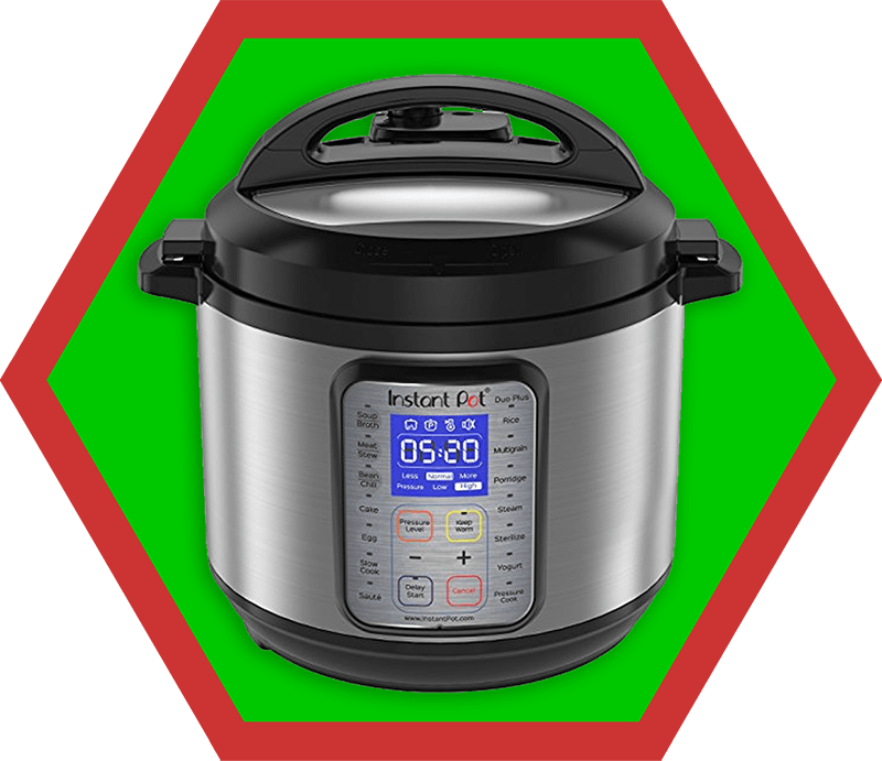 My second favorite Instant Pot model, Instant Pot IP-DUO Plus, from the 2018 Holiday Gift Guide by Nom Nom Paleo