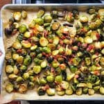 Roasted Brussels Sprouts and Bacon by Michelle Tam https://nomnompaleo.com