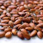 Roasted Rosemary Almonds by Michelle Tam https://nomnompaleo.com