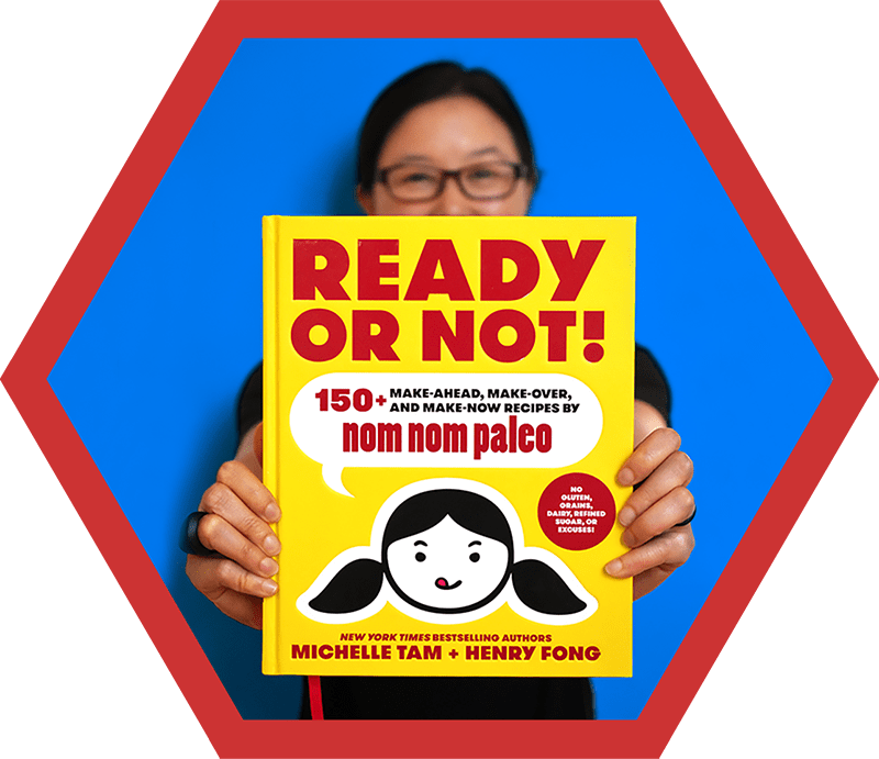 Ready or Not! cookbook from the 2018 Holiday Gift Guide by Nom Nom Paleo