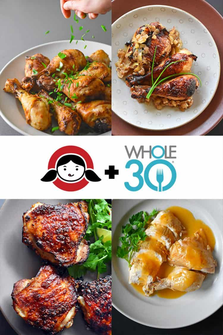 Whole30 Chicken Dinners by Michelle Tam / Nom Nom Paleo https://nomnompaleo.com