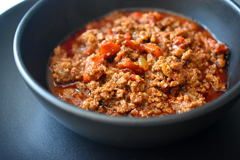 Whole30 Day 3: Ground Beef Chili by Michelle Tam / Nom Nom Paleo https://nomnompaleo.com