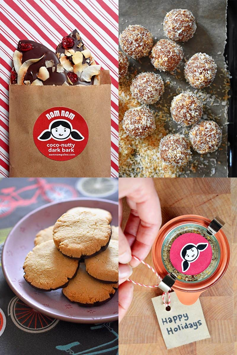 Nomtastic DIY Holiday Gifts! by Michelle Tam http://nomnompaleo.com