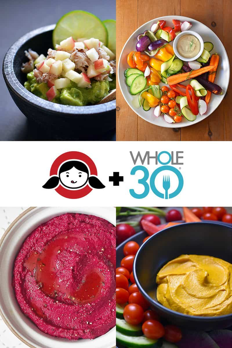 Whole30 Veggie Dips by Michelle Tam / Nom Nom Paleo https://nomnompaleo.com