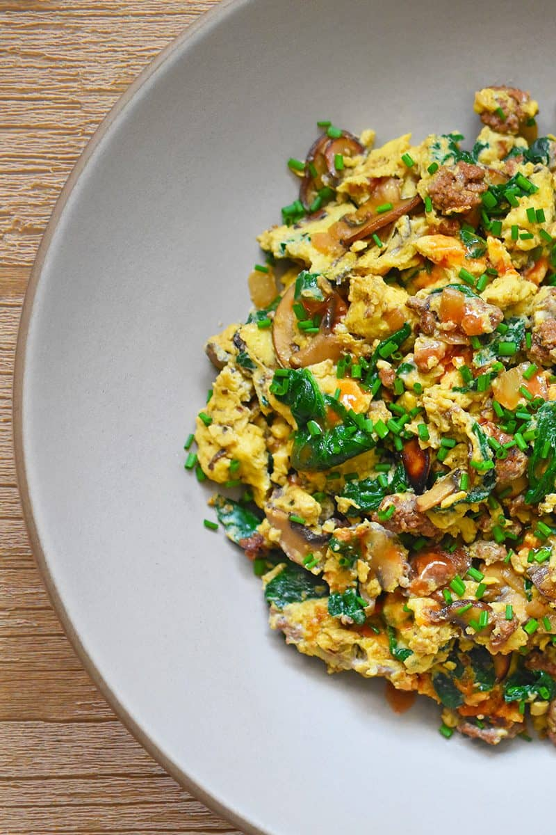 Joe's Special Scramble by Michelle Tam / Nom Nom Paleo https://nomnompaleo.com