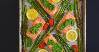 Sheet Pan Salmon Supper