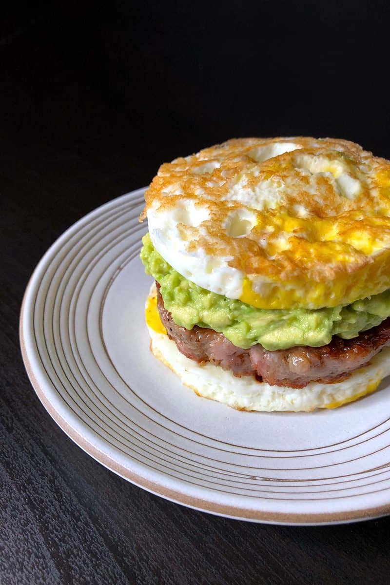 Whole30 Day 28: Sausage Egg McMuffin by Michelle Tam / Nom Nom Paleo https://nomnompaleo.com