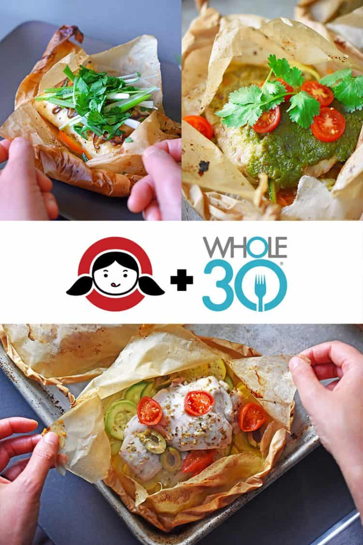Whole30 Parchment Packets by Michelle Tam / Nom Nom Paleo https://nomnompaleo.com
