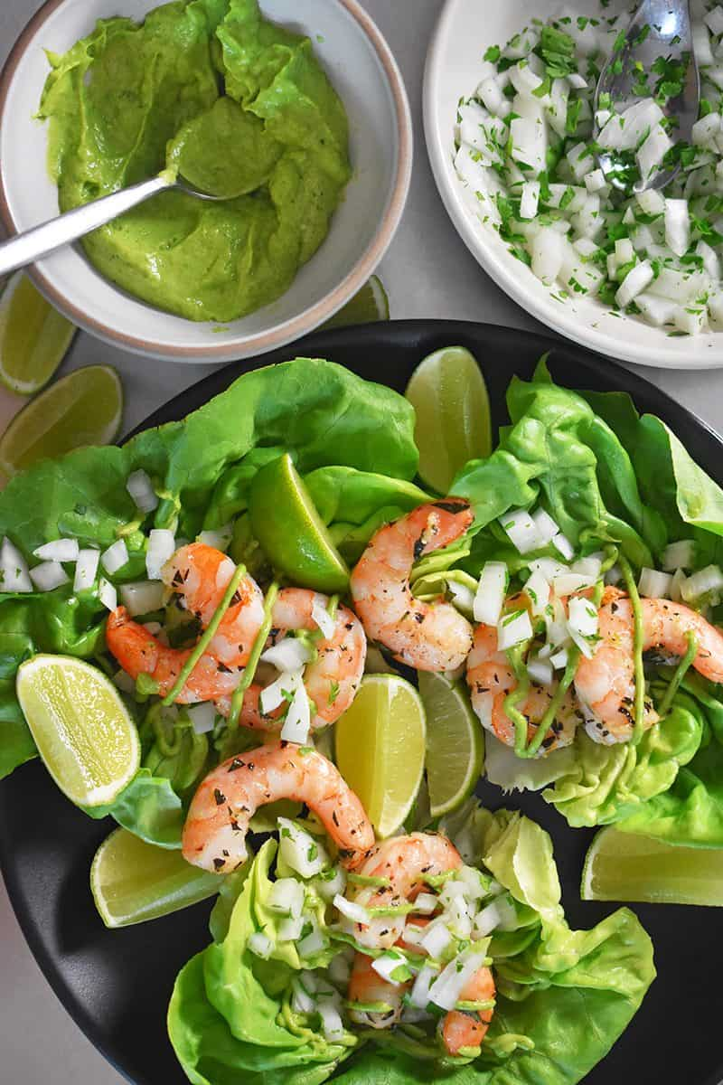 Shrimp Tacos by Michelle Tam / Nom Nom Paleo https://nomnompaleo.com