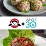 Whole30 Day 9: Wonton Meatballs + Sliders