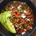 Whole30 Day 3: Ground Beef Chili
