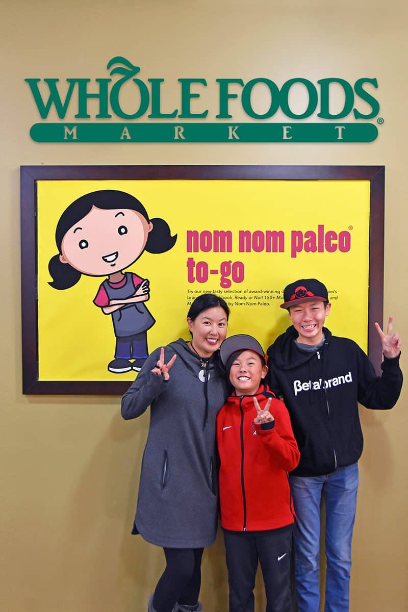 Nom Nom Paleo and Whole Foods Market Partnership by Michelle Tam / Nom Nom Paleo https://nomnompaleo.com
