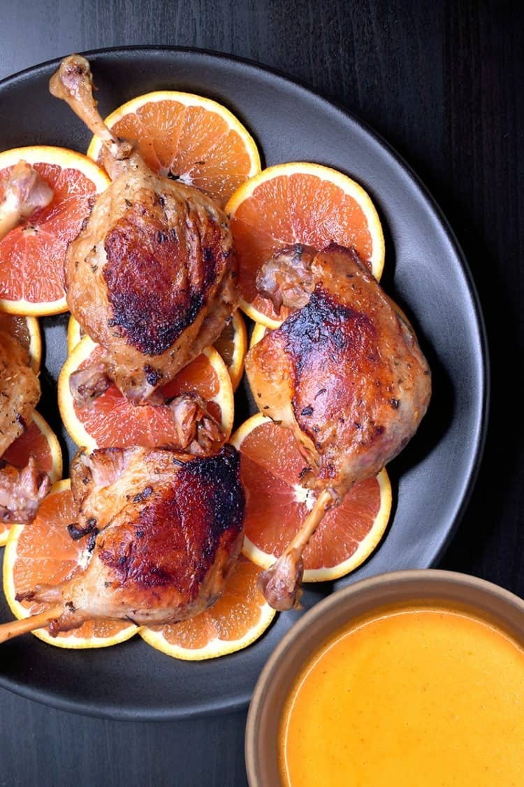 Instant Pot Orange Duck by Michelle Tam / Nom Nom Paleo https://nomnompaleo.com