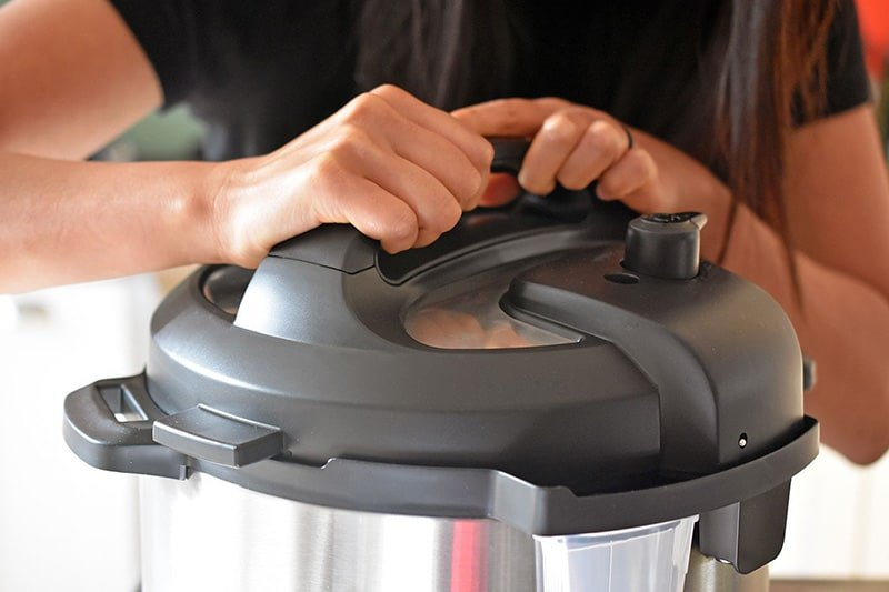Unlocking the Instant Pot lid