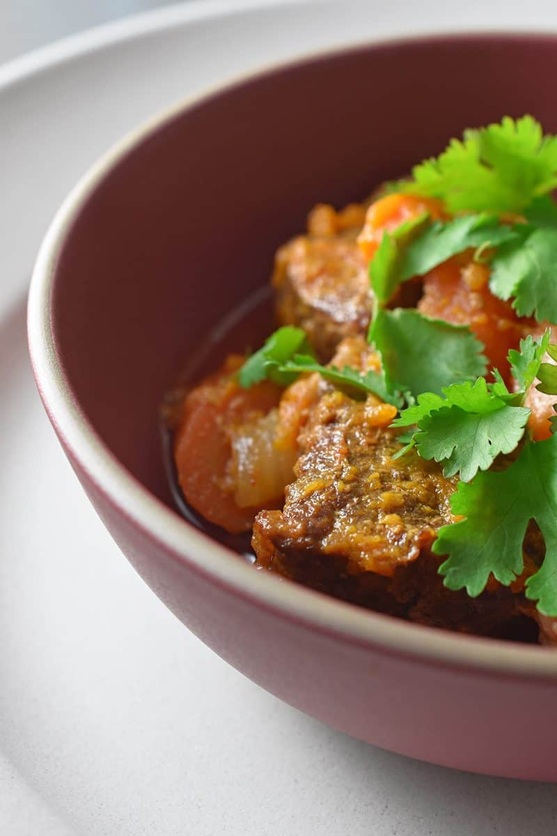 Instant Pot Thai Beef Curry by Michelle Tam https://nomnompaleo.com