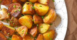 Instant Pot (Pressure Cooker) Crispy Potatoes