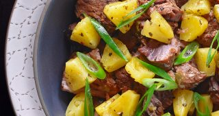 Instant Pot (Pressure Cooker) Spicy Pineapple Pork