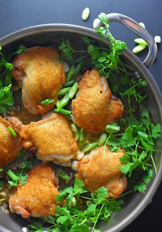 Cantonese Crispy Chicken Thighs - Nom Nom Paleo®