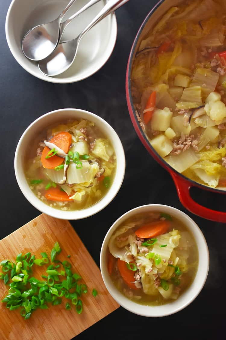 Pork and Napa Cabbage Soup by Michelle Tam https://nomnompaleo.com