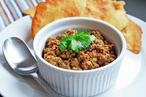 Deconstructed Samosa / Spiced Keema by Michelle Tam of Nom Nom Paleo https://nomnompaleo.com