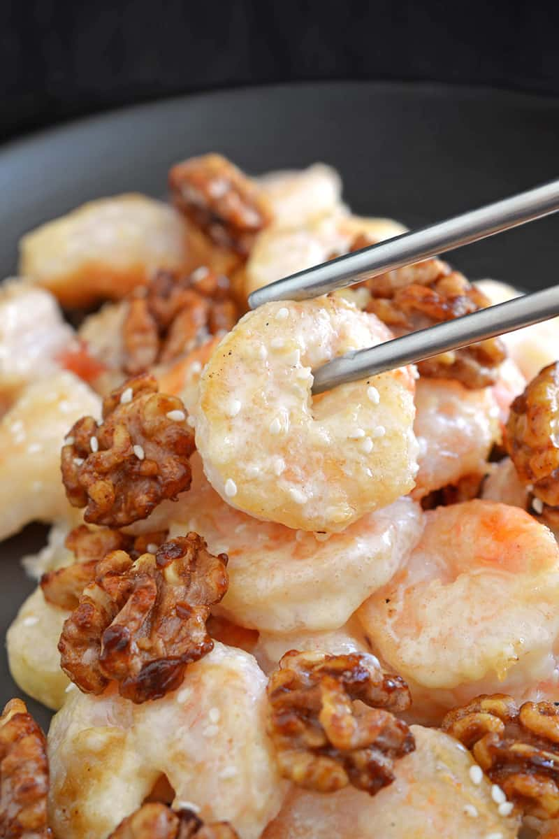 Paleo Walnut Shrimp