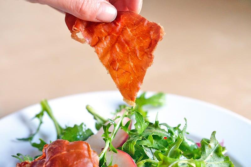 Porkitos (Crispy Prosciutto Chips) - Nom Nom Paleo®