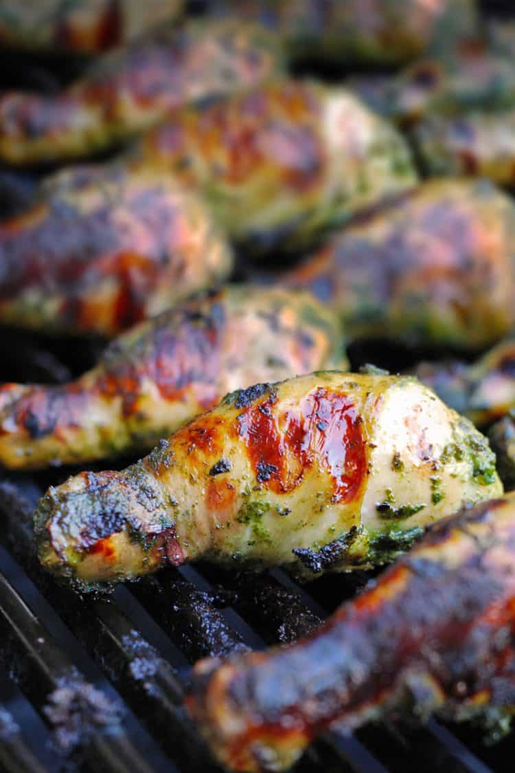 My Sister's Phenomenal Grilled Green Chicken by Michelle Tam / Nom Nom Paleo https://nomnompaleo.com