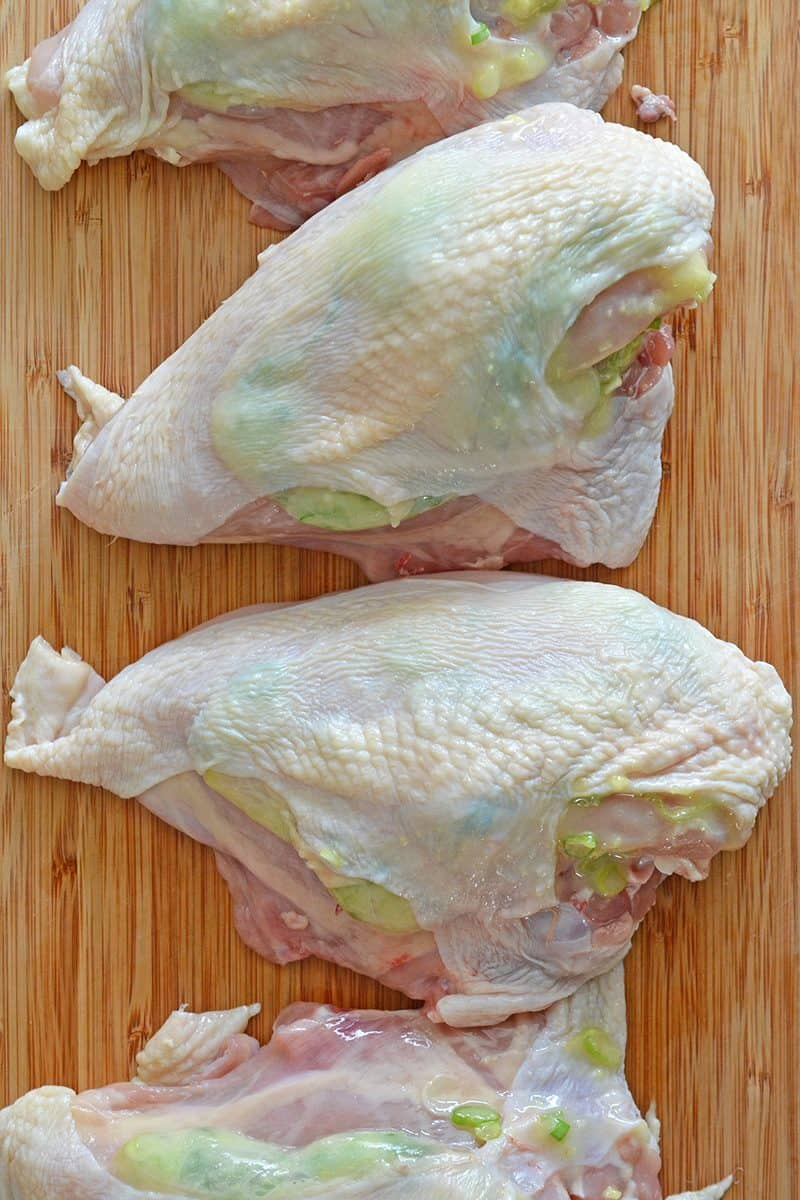 Ginger-Scallion Chicken by Michelle Tam https://nomnompaleo.com