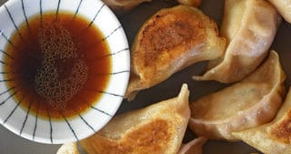 These tasty homemade Paleo Pot Stickers are gluten-free, grain-free, nut-free, dairy-free, and egg-free, and they're just as deliciously authentic as you remember! They'll even satisfy your dumpling-lovin' non-paleo pals!