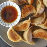 These homemade grain-free, nut-free, dairy-free, egg-free, gluten-free Paleo Pot Stickers taste authentic and will even satisfy your dumpling loving non-paleo pals!