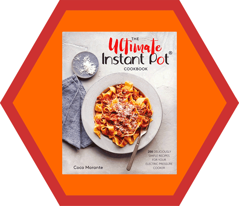 The Ultimate Instant Pot Cookbook by Coco Morante from the 2018 Holiday Gift Guide by Nom Nom Paleo