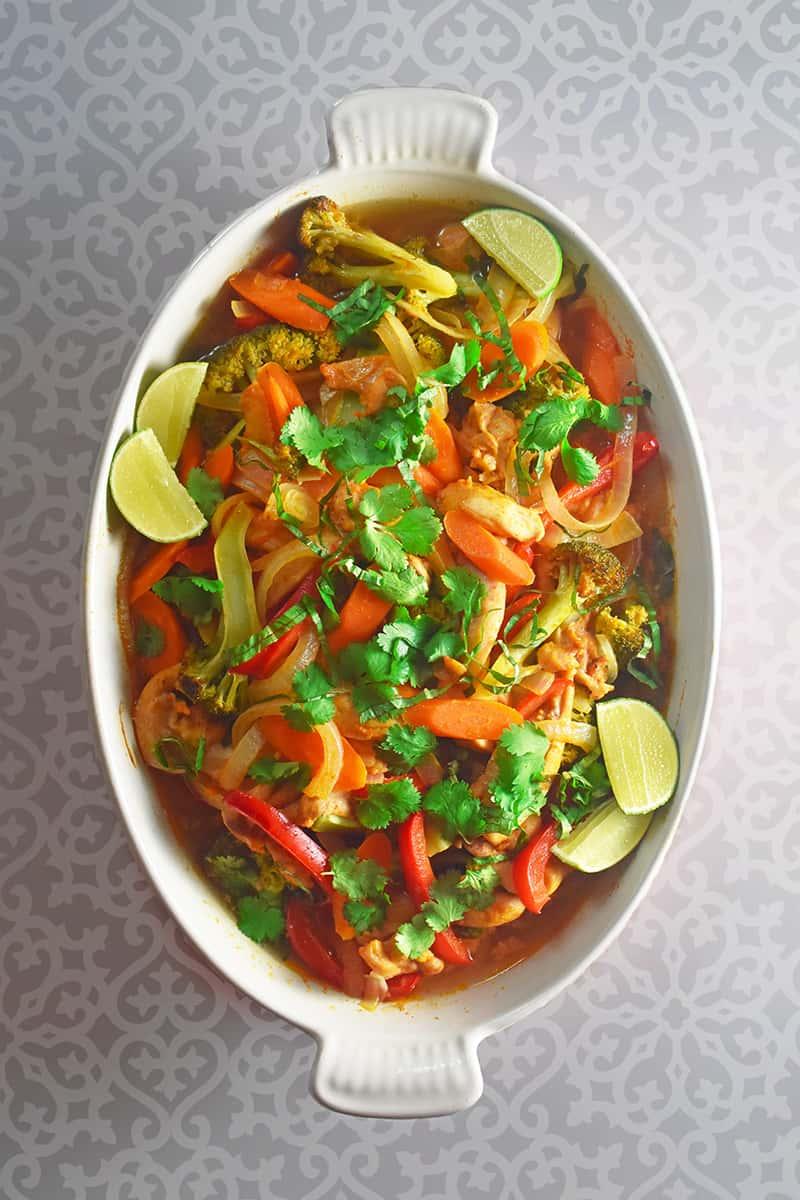 Thai Chicken Curry Casserole Nom Nom Paleo 174