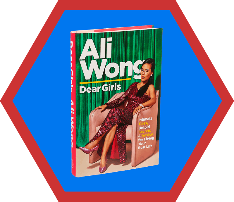 A cover of Ali Wong's book, Dear Girls, a pick on Nom Nom Paleo's 2019 holiday gift guide