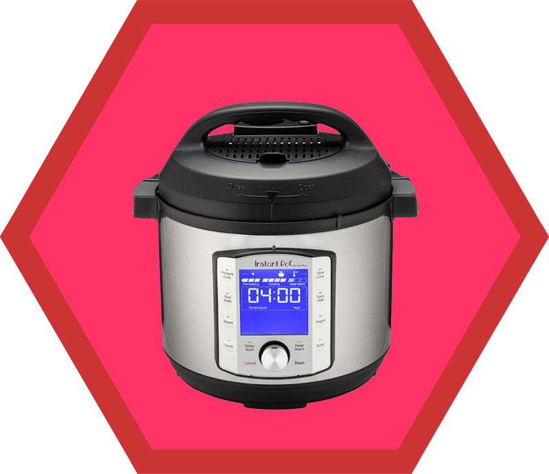 A 6-quart Instant Pot Duo Evo Plus, a pick on Nom Nom Paleo's 2019 holiday gift guide.