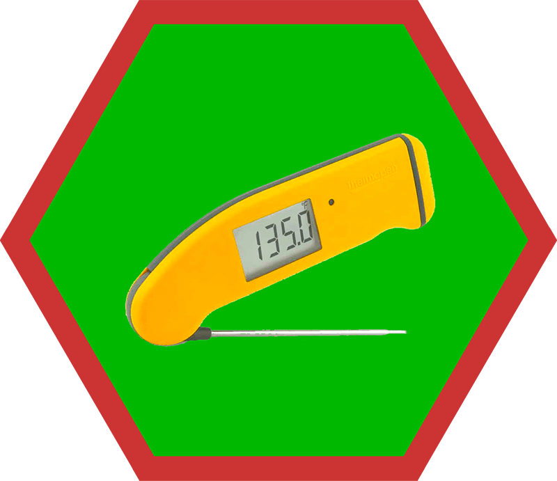 A yellow Thermapen Mk4, a suggestion on Nom Nom Paleo's 2019 holiday gift guide.