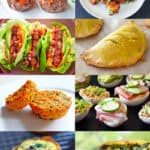 A collage of Nom Nom Paleo recipe ideas that make healthy school lunches.