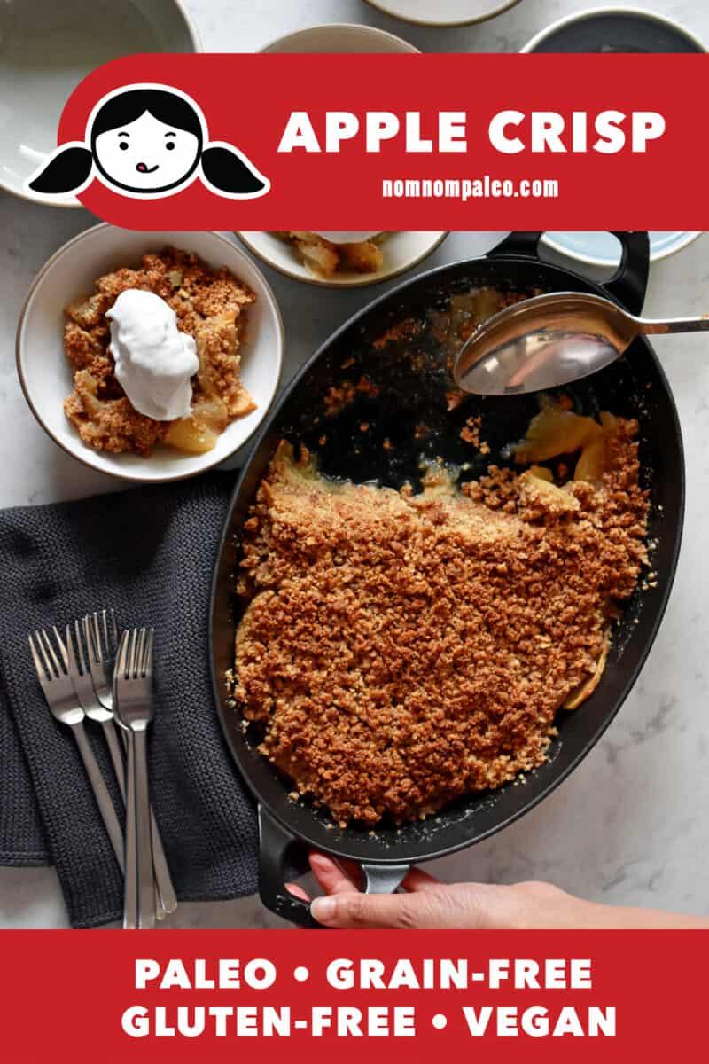 Apple Crisp (Paleo, Vegan, Gluten-Free)